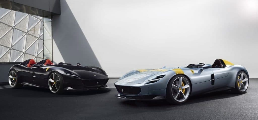 Ferrari Monza SP2 and SP1