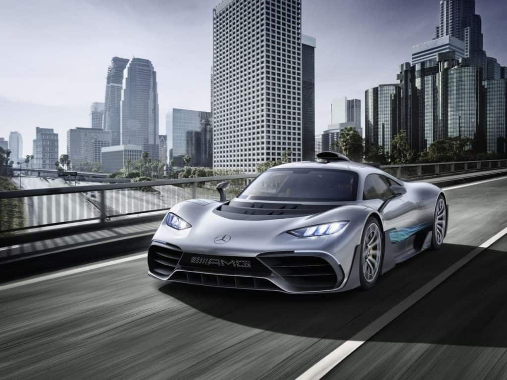 Mercedes-AMG Project ONE - سيارات تتخطى قيمتها المليون دولار