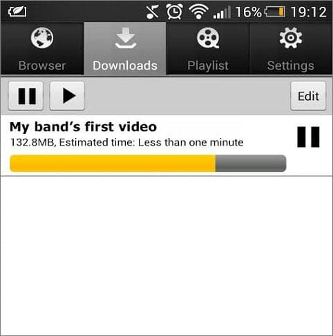 8. YTD Video Downloader for Android
